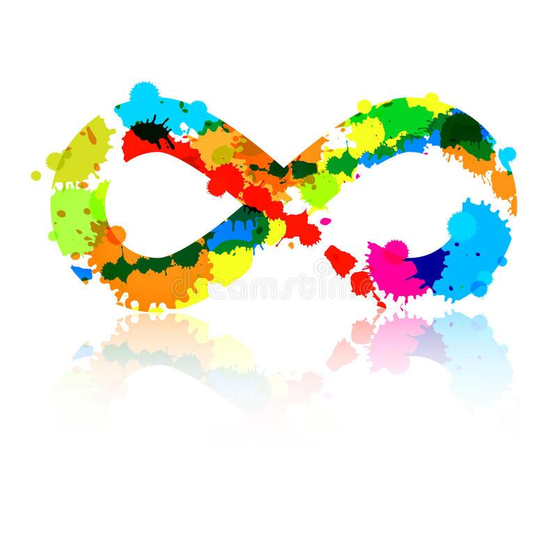 símbolo-colorido-del-infinito-del-vector-abstracto-39385135